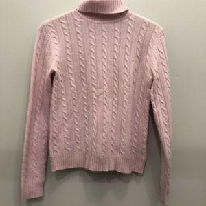 Lauren Ralph Lauren 100 % Cashmere Cable Knit S